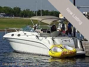 "Express Cruiser | 2002 26'0"" Sea Ray 260 Sundancer"