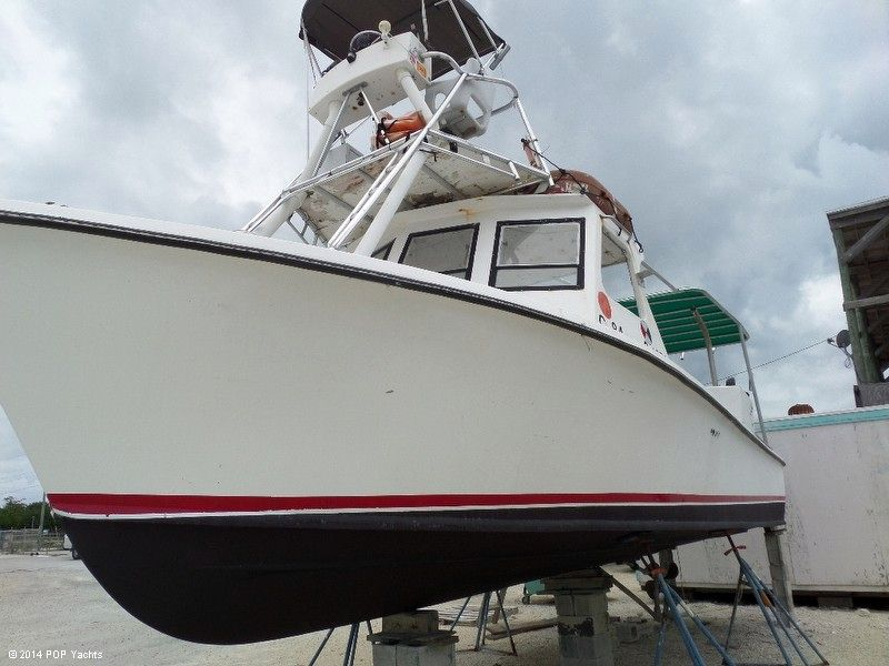 1989 used c craft 33 lobster crab lobster fishing boat for for Crab fishing boats for sale