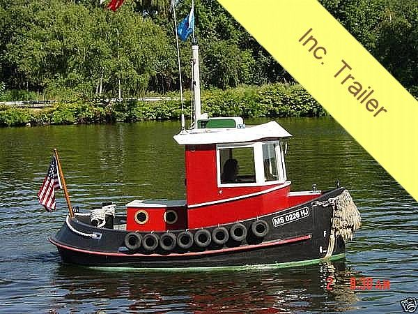 Aluminum Tugboat Plans