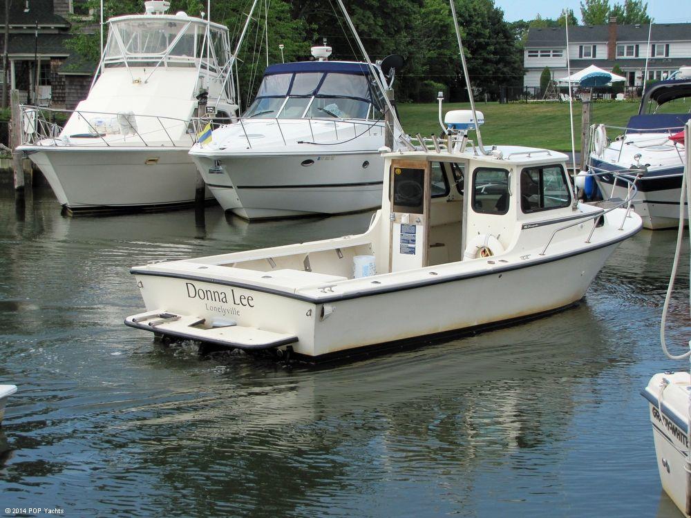 1994 used steiger craft 25 chesapeake pilothouse boat for for Used steiger craft for sale