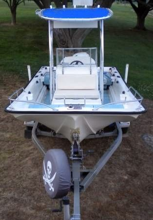 1979 Used Mckee Craft 17 Center Console Fishing Boat For