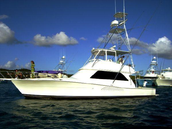 2000 Used Viking Sport Fisherman Convertible Fishing Boat