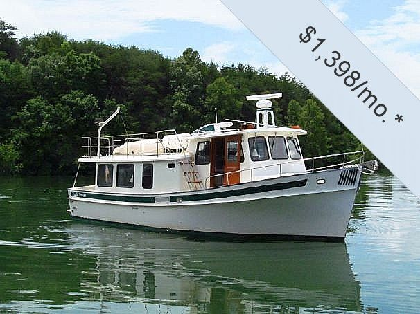 1999 Used Pacific Trawlers 37 Pilothouse Trawler Boat For