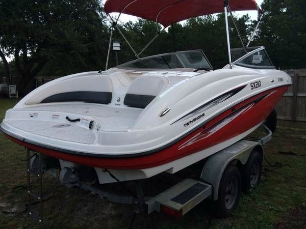 2007 used yamaha sx210 jet boat for sale 22 000 for Yamaha jet boat for sale florida