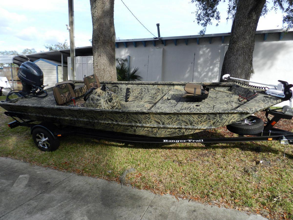 2014 Used Ranger Mpv 1862 Aluminum Fishing Boat For Sale