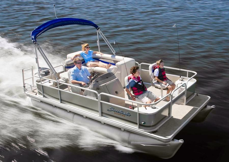 2015 New Sweetwater Sunrise 186 F Pontoon Boat Or Sale