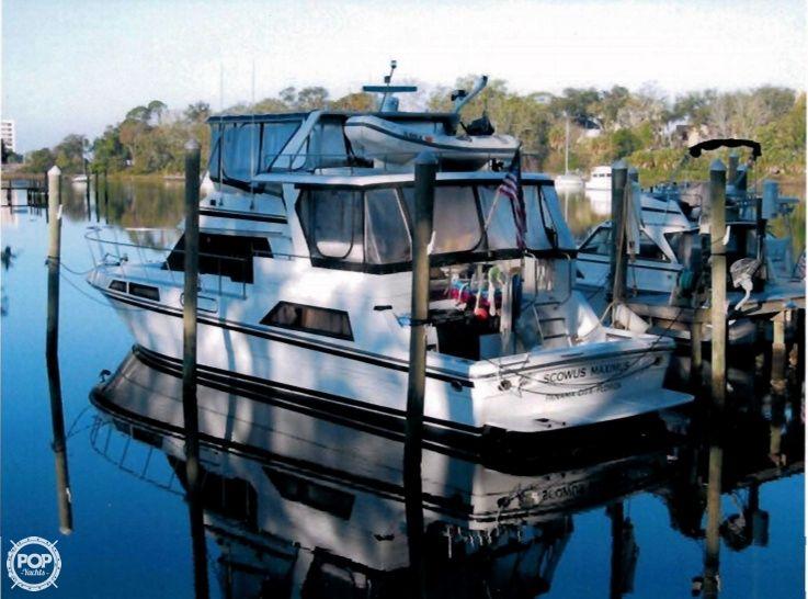 1989 51 39 high tech yachts 51 cockpit motor yacht for Used boat motors panama city fl