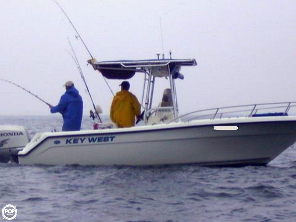 2000 used key west 2220 cc center console fishing boat for for Key west fishing boats