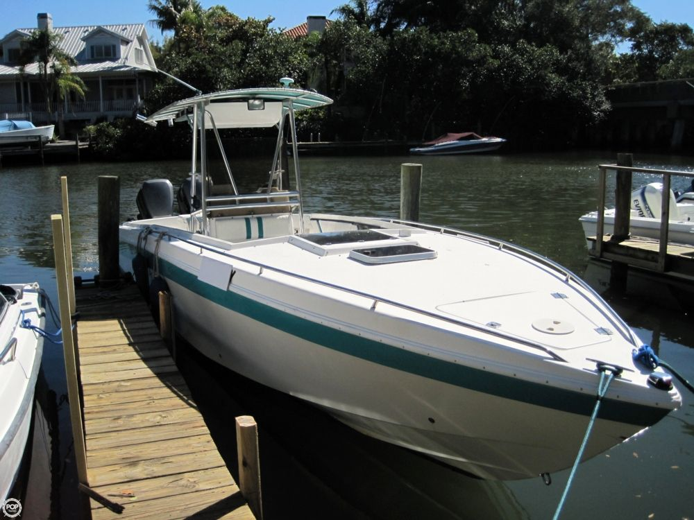 1993 used scarab 30 scarab sport center console fishing for Used center console fishing boats for sale
