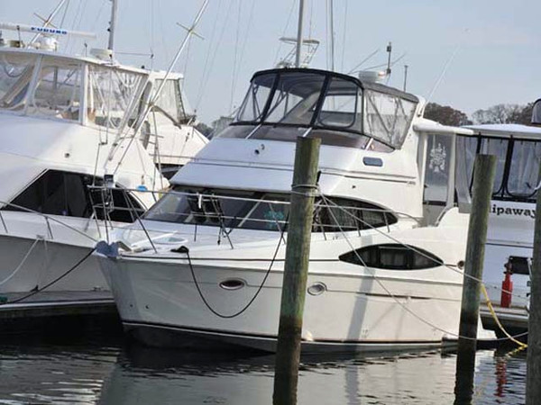2003 Used Carver 366 Motor Yacht Aft Cabin Boat For Sale