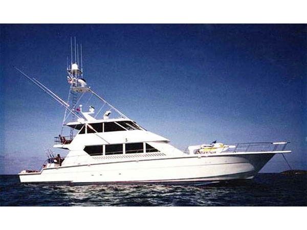 1998 used hatteras enclosed flybridge motor yacht sports for Hatteras fishing charters