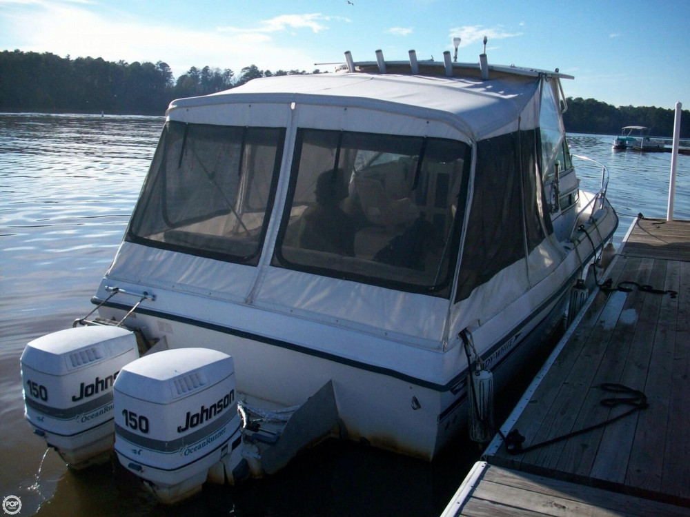 1988 used grady white 232 gulfstream walkaround fishing for Grady white fishing boats