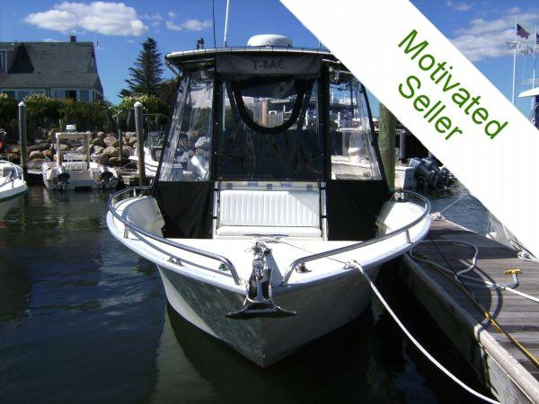 "2002 21'0"" Cape Horn 21 Offshore Boat For Sale"