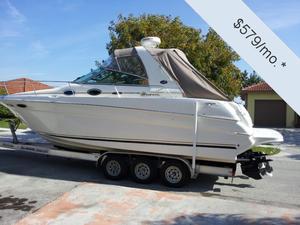 "Express Cruiser   2001 29'0"" Sea Ray 290 Sundancer"