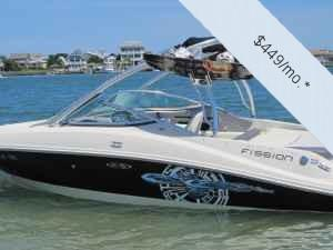 "Ski and Wakeboard Boats | 2008 21'0"" Sea Ray 210 Select Fission"