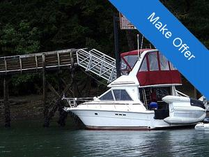 "Sports Fishing Boats | 1989 34'0"" Sea Ray 340 Sedan Bridge"