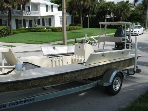 2008 used fisher 180 btx beaver tail skiff flats fishing for Fishing boats for sale by owner
