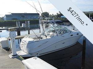 "Express Cruiser | 2006 27'0"" Sea Ray 270 Amberjack"