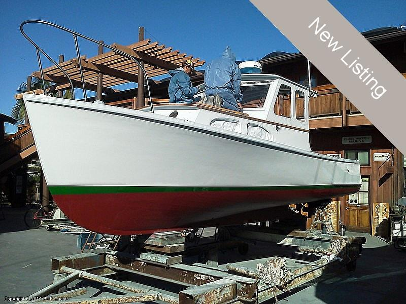 1977 used riverside 24 striper lobster boat lobster for Fishing boat dealers near me