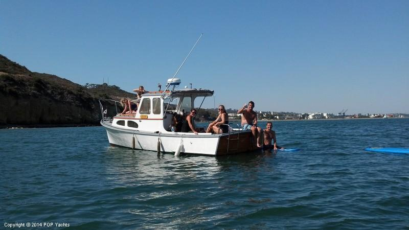 1977 used riverside 24 striper lobster boat lobster for Lobster fishing san diego