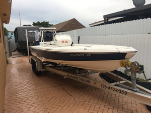 Used Intrepid 21 Saltwater Fishing Boat For Sale