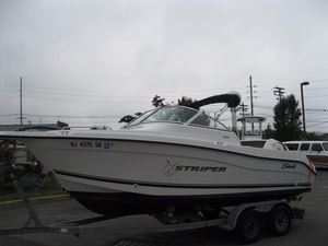 Used Sea Swirl Striper 2101 DC Dual Console Boat For Sale