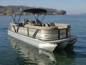 New Veranda Vertex 25RC Tritoon Pontoon Boat For Sale