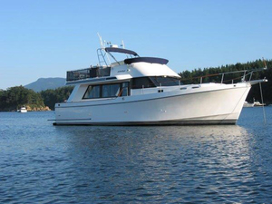 Used Ocean Alexander 426 Classico Sedan Flybridge Boat For Sale
