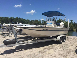 Used Stratos Boats 2100 CC Center Console Fishing Boat For Sale