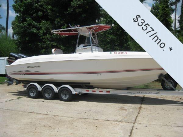 Used Wellcraft Scarab 29 Center Console Fishing Boat For Sale