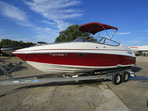 Used Ebbtide 2300 Bow Rider w Liner Bowrider Boat For Sale