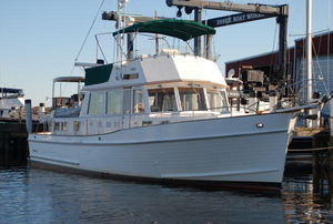 Used Grand Banks 46 Classic Trawler Boat For Sale