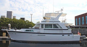 Used Hatteras Yacht Fisherman Flybridge Boat For Sale