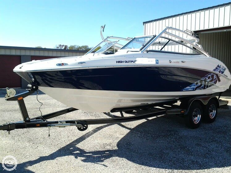 2009 used yamaha 212x jet boat for sale 27 100