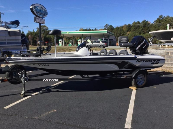Used Nitro Z6 Bass Boat For Sale