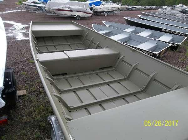 New Crestliner 1232 CR Jon Boat For Sale