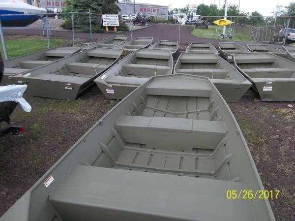 New Crestliner 1648 CR Jon Boat For Sale