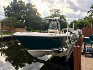 Used Oceanic 25 Center Console Fishing Boat For Sale