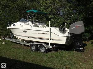 Used Wellcraft 230 coastal Walkaround Fishing Boat For Sale