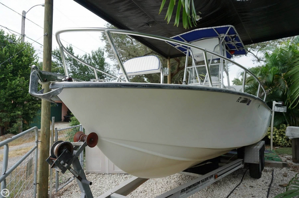 Used Lightning 21 Open Fisherman Center Console Fishing Boat For Sale