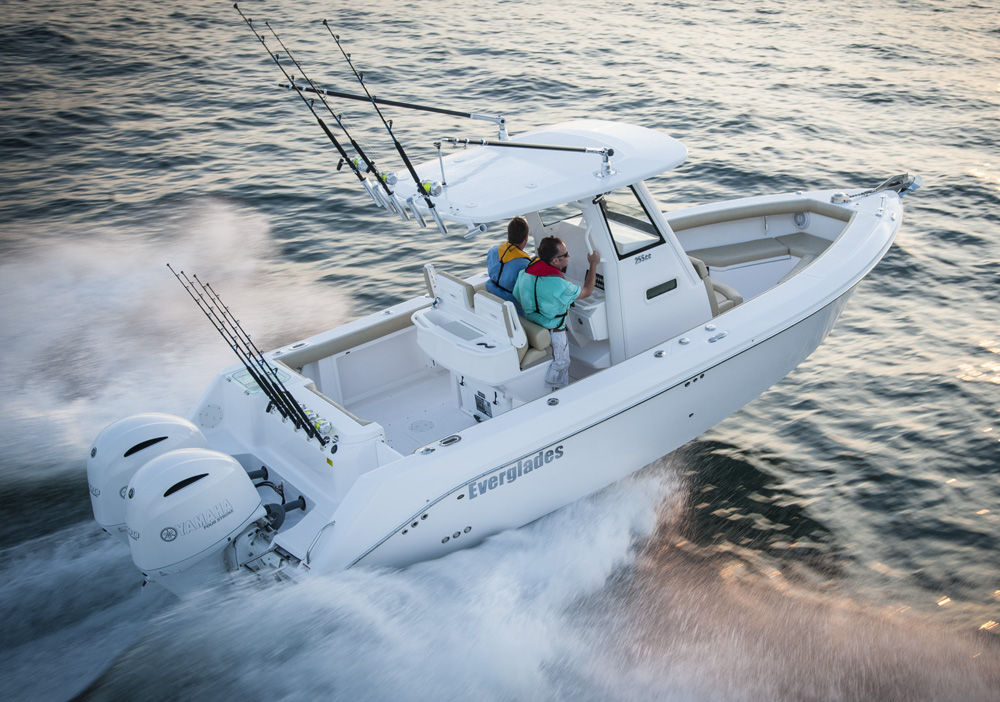 2017 new everglades boats 255cc center console fishing for Center console fishing boats for sale
