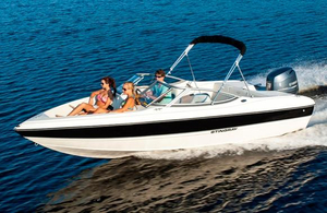 Used Stingray 191 RX Ski and Fish Boat For Sale