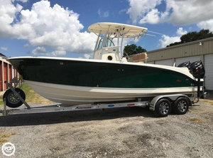 Used Trophy Pro 2503 Center Console Fishing Boat For Sale