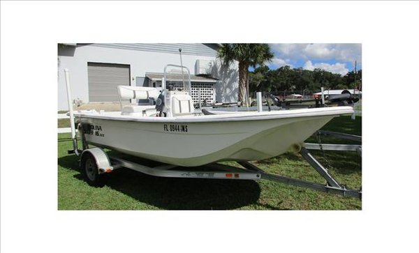 Used Carolina Skiff JVX16CC Flats Fishing Boat For Sale