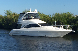 Used Sea Ray Sedan Bridge Express Cruiser Boat For Sale