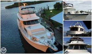 Used Hatteras 53 Motor Yacht Extended Deck Cruiser Boat For Sale