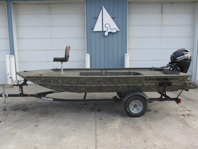 2017 new tracker grizzly 1654 mvx sportsmangrizzly 1654 for Fishing boats for sale in michigan