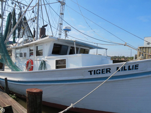 Used Roy Guidry 51 Commercial Boat For Sale