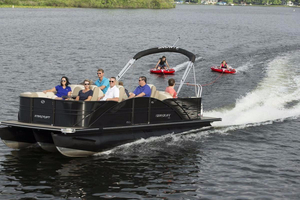 New Starcraft MX 25 DL Premium (Champagne) Pontoon Boat For Sale