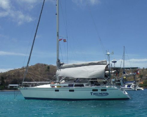 Used Hunter Legend 37.5 Cruiser Sailboat For Sale